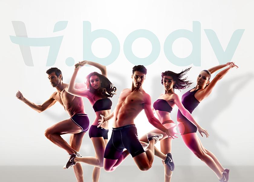 Hi.body倍递健康空间 VI设计图4