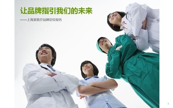 上海某医疗机构品牌定位分析与建议