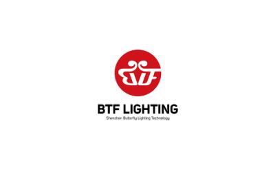 蝴蝴蝶電子照明公司Logo設計