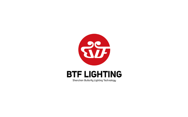 蝴蝴蝶电子照明公司Logo设计