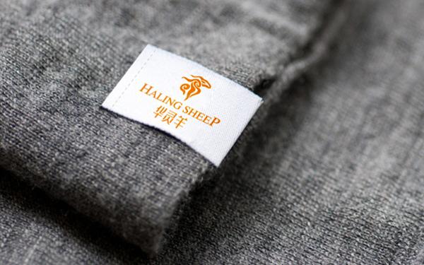 华灵羊-服装新型保暖材料logo 设计