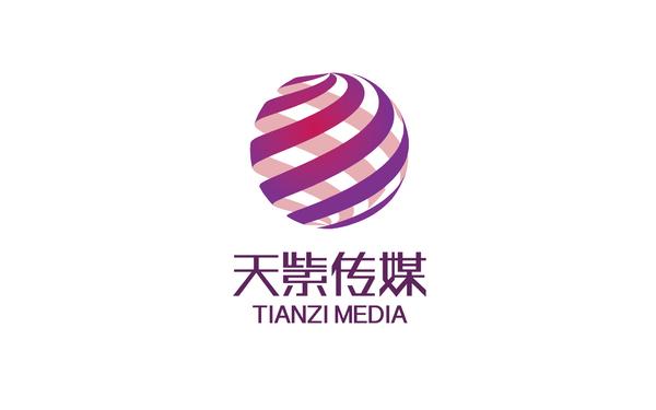 天紫傳媒品牌設計