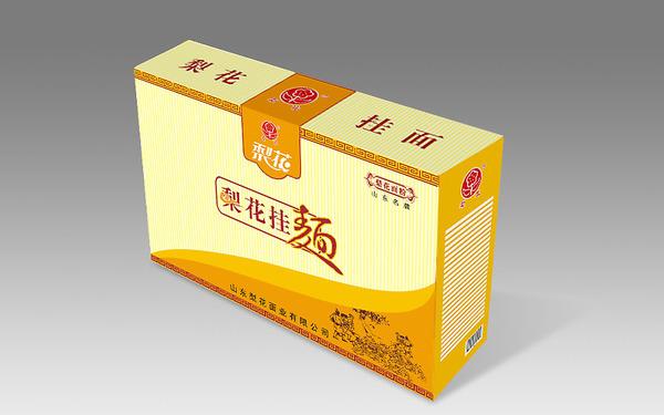山东梨花面业有限公司挂面包装设计