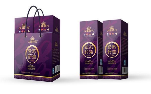 包装礼盒(高端紫苏仔油)