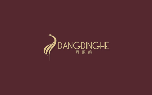 丹顶鹤眼镜logo设计