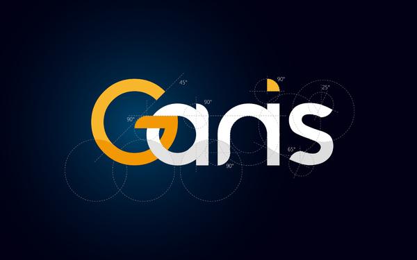 Ganis嘉妮诗集团品牌vi logo