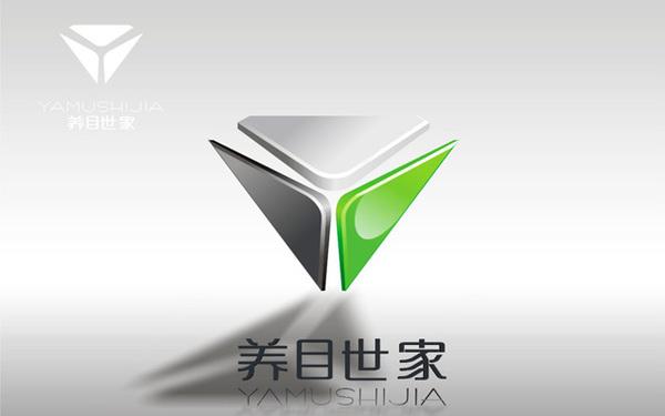 上海睿贺光学LOGO及品牌LOGO设计