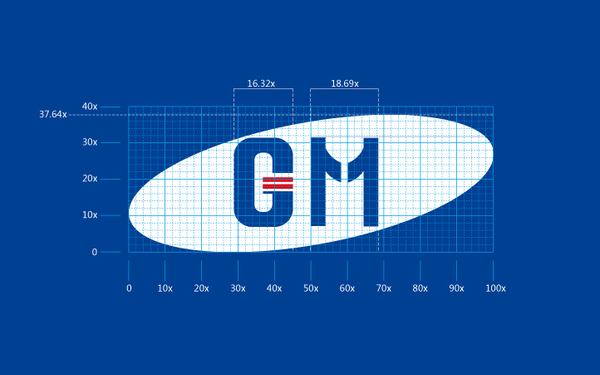 韩国三星机械总公司-标志VI设计