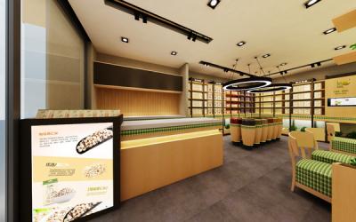 乐食麦平品牌专卖店SI设计