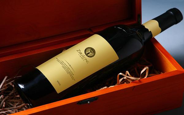 紫酒隆酒業品牌形象LOGO設計
