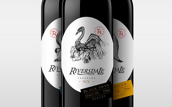 澳洲六寶紅酒設計