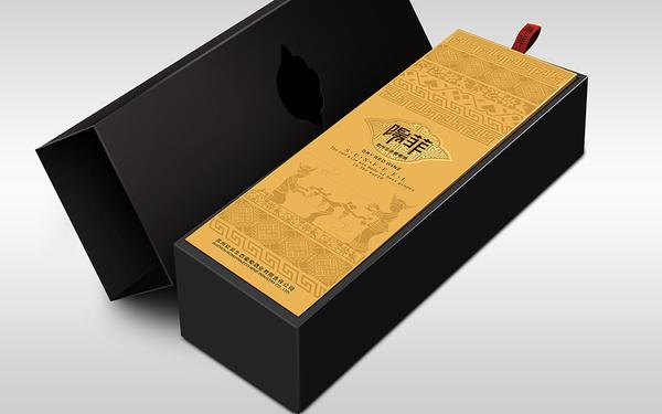 陽菲酒標設計