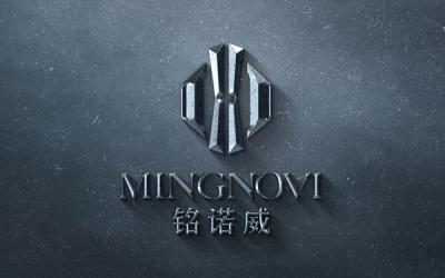 服装品牌铭诺威logo设计