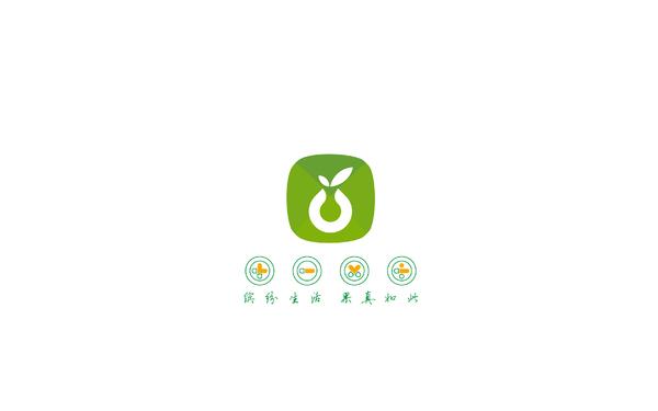 鲜果O2O品牌标志设计