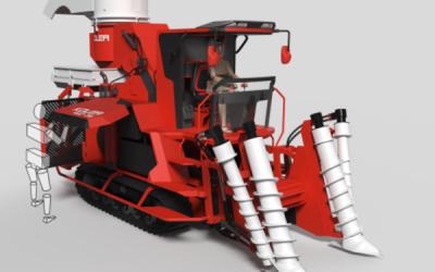 科里亚甘蔗收割机