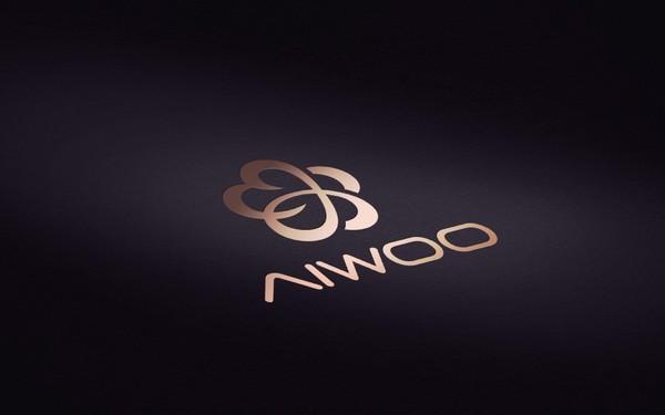 爱沃箱包品牌logo设计