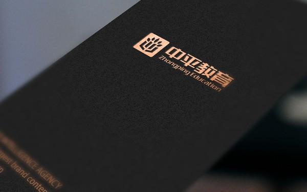 中平教育品牌logo设计