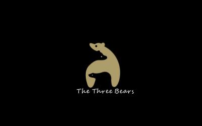 三只熊标志设计