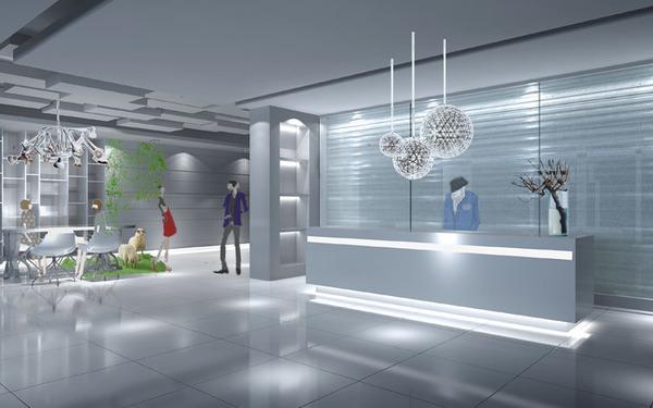 8 M 概念灯饰专卖店SI设计