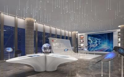 智创科技办公总部大堂空间设计