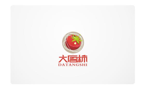 大唐柿面店LOGO设计