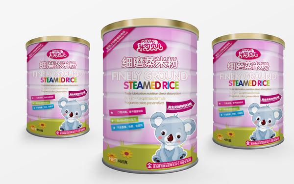米可贝儿婴幼儿食品米粉包装