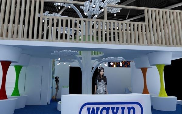 威文WAVIN 北京展位设计