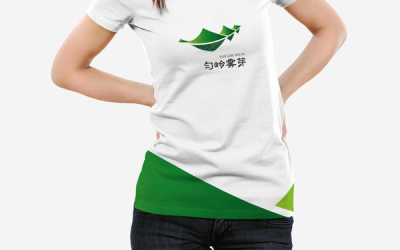 匀岭雾芽茶叶logo设计
