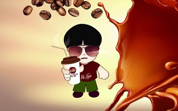 瑞咖啡吉祥物設計