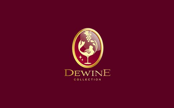 红酒品牌logo设计