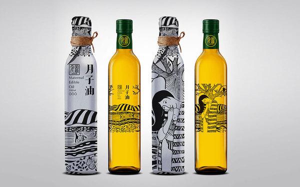 食恩胡麻油品牌及包装设计