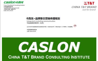 卡西龙-品牌整合营销传播规划