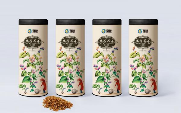 秦粮苦荞茶包装设计