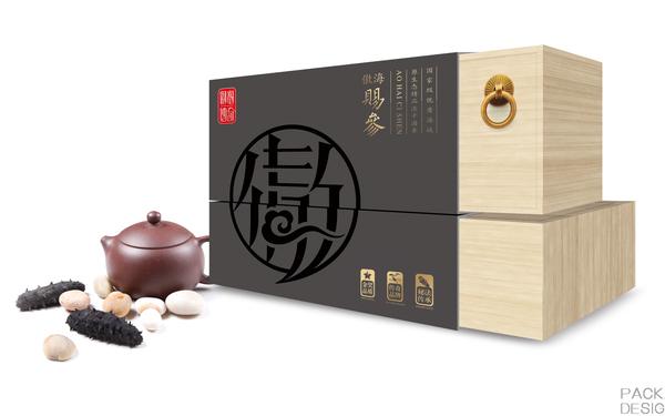 长岛海珍品品牌包装设计