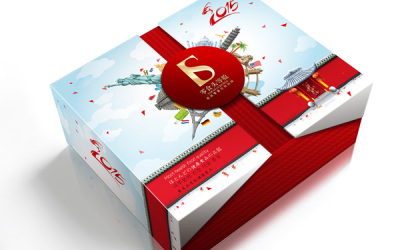 零食头等舱品牌的礼盒包装设计