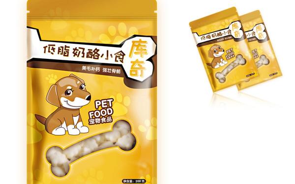 庫奇品牌的犬用奶酪袋子設計