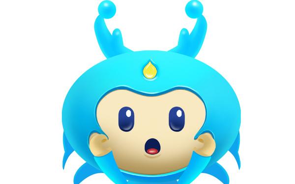 金海湖吉祥物-小金灵