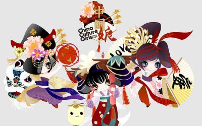 中国娘-萌系拟人形象系列第2代