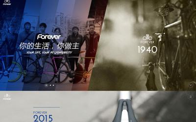 上海永久自行车官网设计