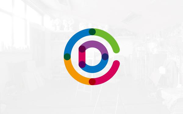 彩迪艺术空间logo设计