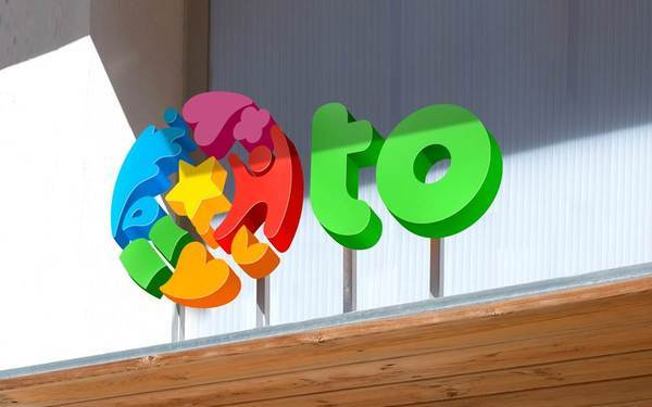 OTO国际幼儿园logo设计