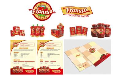 FRANSSO番茄酱品牌VI物料