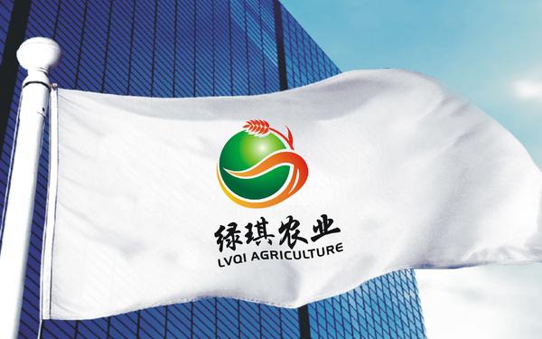 绿琪农业标志设计