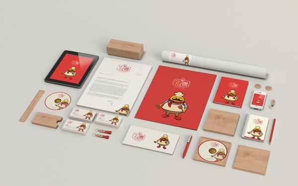 七在膳美食品牌VI设计