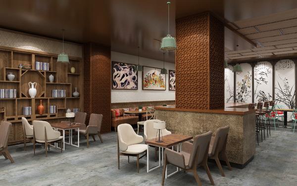 上海麻子李西北特色餐厅SI设计