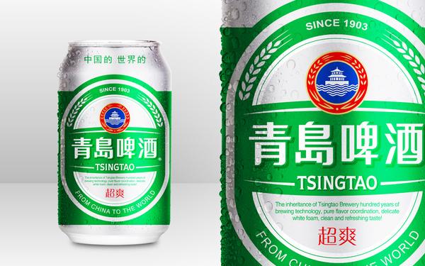 青岛啤酒超爽啤酒产品包装设计