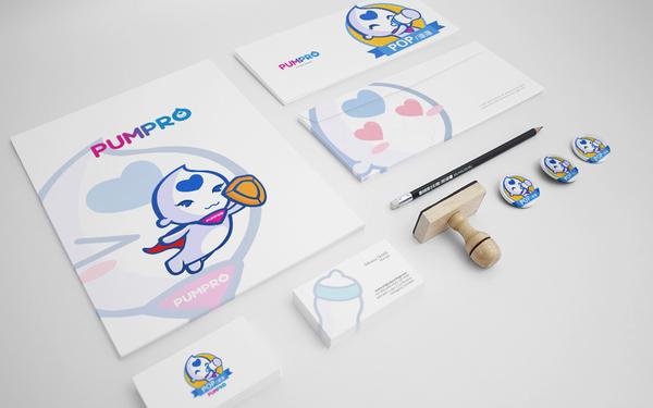 帮哺乳品牌形象、吉祥物设计