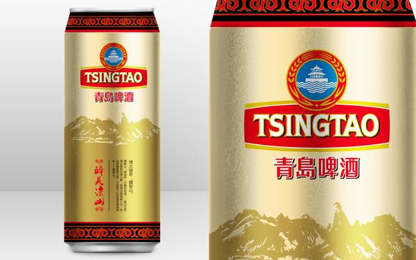 青岛啤酒醉美凉山啤酒产品包装设计