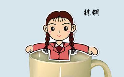 电影《匆匆》宣传品 创意茶包