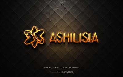 ASHILISIA饰品标识设计...